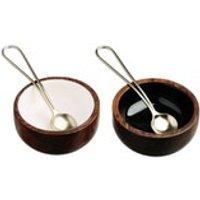 Just Slate Sheesham Wood Condiment Set
