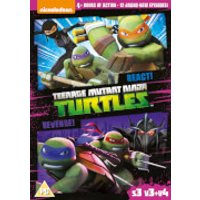 Teenage Mutant Ninja Turtles React & Revenge! (S3, V3 & V4)