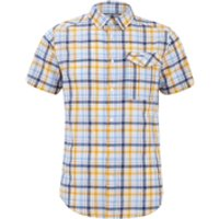 Craghoppers Mens Avery Short Sleeve Shirt - Dusk Blue - S