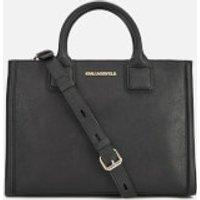 Karl Lagerfeld Womens K/Klassik Tote Bag - Black
