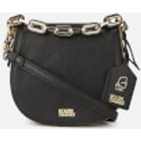 Karl Lagerfeld Womens K/Grainy Satchel Bag - Black