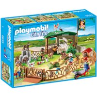 Playmobil City Life Childrens Petting Zoo (6635)