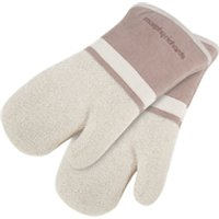 Morphy Richards 973523 Set of 2 Oven Mits - Stone