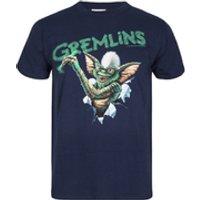 Gremlins Mens Crayon T-Shirt - Navy - S