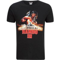 Rambo 3 Mens T-Shirt - Black - L