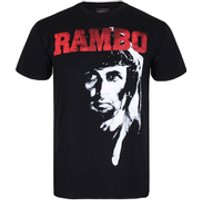 Rambo 2 Mens T-Shirt - Black - L