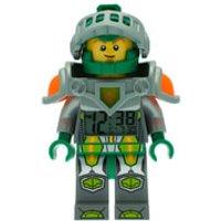 LEGO Nexo Knights Aaron Mini Figure Alarm Clock