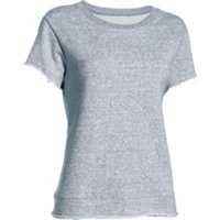 Under Armour Womens Studio Boxy Crew T-Shirt - Grey - XS