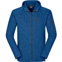 Jack Wolfskin Mens Caribou Lodge Jacket - Classic Blue - S
