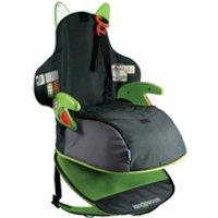 Trunki BoostApak Car Seat - Black/Green