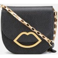 Lulu Guinness Womens Amy Small Crossbody Bag - Black