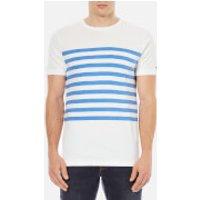 Tommy Hilfiger Mens Lester Striped T-Shirt - Blithe - XL