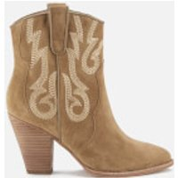 Ash Womens Joe Suede Heeled Boots - Wilde - UK 4