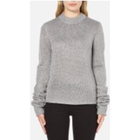 Cheap Monday Womens Honour Knitted Jumper - Silver - M/UK 10