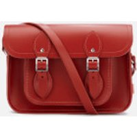 The Cambridge Satchel Company Womens 11 Inch Magnetic Satchel - Red