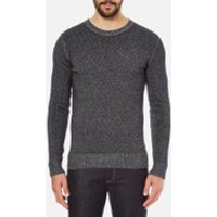 J.Lindeberg Mens Jamie Twist Jumper - Black - XXL