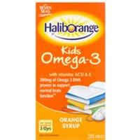 Haliborange Kids Omega 3 Orange Syrup - 400ml - Box - Orange