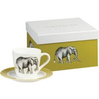 Harlequin Savanna Espresso Cup and Saucer Gift Box (Set of 4)
