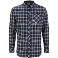 Craghoppers Mens Brigden Long Sleeve Shirt - Storm Navy Check - L