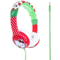 Hello Kitty Childrens On-Ear Headphones - Apples