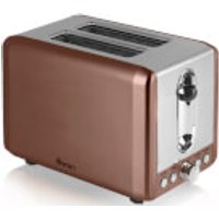 Swan ST14040COPN 2 Slice Toaster - Copper