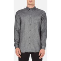 Selected Homme Mens Woken Long Sleeve Shirt - Mirage Grey - XL