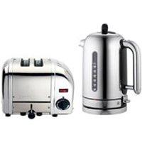 Dualit Classic Vario 2 Slot Toaster & Kettle Bundle - Polished
