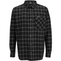 Jack Wolfskin Mens Glacier Shirt - Black Check - S