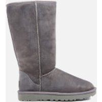 UGG Womens Classic Tall II Sheepskin Boots - Grey - UK 7.5