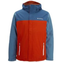 Columbia Mens Everett Mountain Jacket - Rust Red - XL