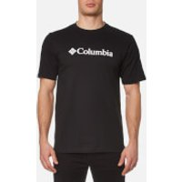 Columbia Mens Basic Logo T-Shirt - Black - XL