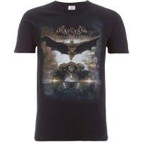 DC Comics Mens Batman Batmobile T-Shirt - Black - XL