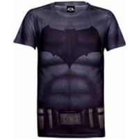 DC Comics Mens Batman Muscle T-Shirt - Grey - L