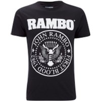 Rambo Mens Seal T-Shirt - Black - S