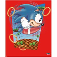 Sonic the Hedgehog Rings Art Print - 16.5 x 11.7