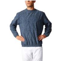 adidas Mens Stone Training Crew Sweatshirt - Blue - L