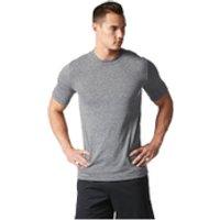 adidas Mens Basic Performance Training T-Shirt - Black - M