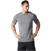 adidas Mens Basic Performance Training T-Shirt - Black - XL - Black