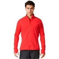 adidas Mens Supernova Storm Running Jacket - Red - XL