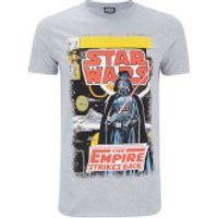 Star Wars Mens Empire Strikes Back T-Shirt - Grey - XL