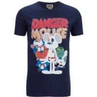 Danger Mouse Mens T-Shirt - Navy - S