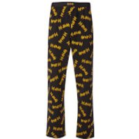 Def Leppard Mens Lounge Pants - Black - L