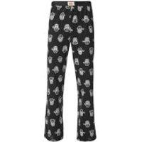 Minions Mens Character Print Lounge Pants - Black - M