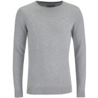 Le Shark Mens Union Cotton Crew Neck Jumper - Light Grey Marl - XL