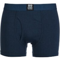 Crosshatch Mens 3 Pack Triplet Boxers - Insignia Blue - XXL