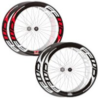 Fast Forward F6R Carbon Clincher Wheelset - Red Decals - Campagnolo