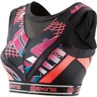 Skins DNAmic Womens Vest Crop Top - Junkyard Geo - L