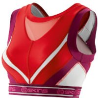 Skins DNAmic Womens Vest Crop Top - Rossa - XS