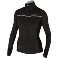 Castelli Womens Trasparente 3 Long Sleeve Jersey - Grey/Black - XS
