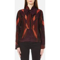 Gestuz Womens Jerry Blouse - Winetasting - UK 12/EU 40